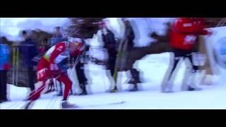 Р.Рождественский Репортаж о лыжной гонке