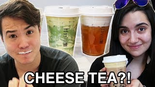 We Tried Instagram Cheese Tea