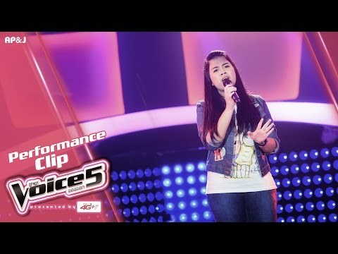 The Voice Thailand - แพรว แพรวนภา - Almost is Never Enough - 20 Nov 2016