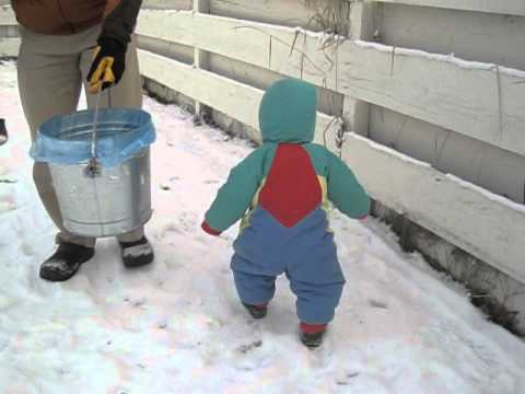 12 23 2011 Snow Suit Boy YT