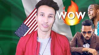 AMERICAN REACTING TO NIGERIAN HIP HOP / RAP (wow.)