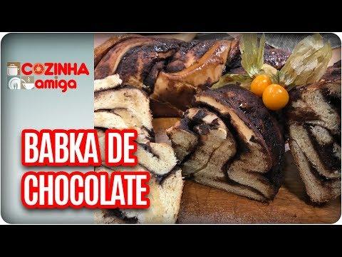 Babka De Chocolate - Gabriel Barone | Cozinha Amiga (10/04/18)