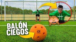 PORTERO de FÚTBOL CIEGO ¡Retos de Fútbol! PYR CHALLENGE