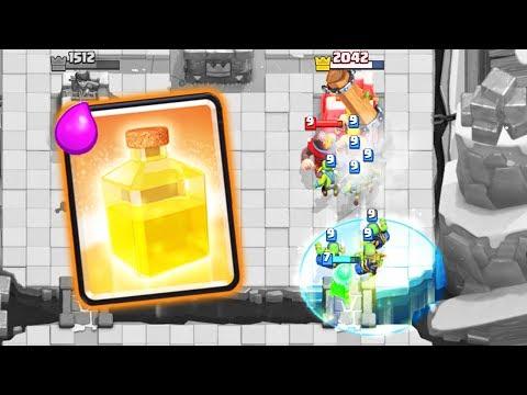 HEAL 3 MUSKIES GAMEPLAY • Clash Royale