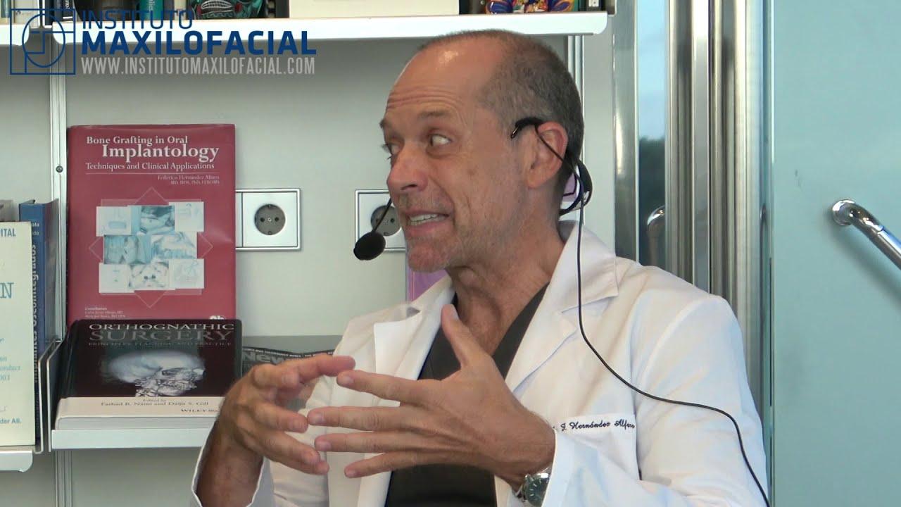 Entrevista al Dr. Federico Hernández Alfaro, Director del Instituto Maxilofacial