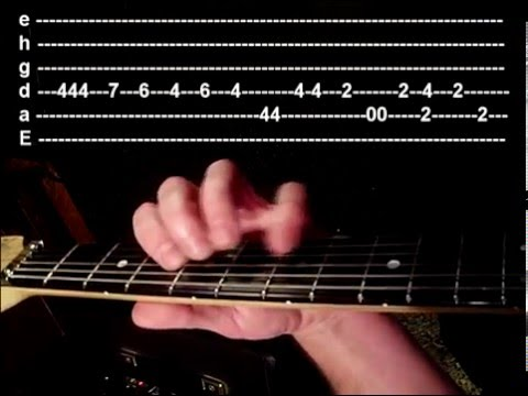 Depeche Mode Personal Jesus Guitar Video Lesson with tabs
