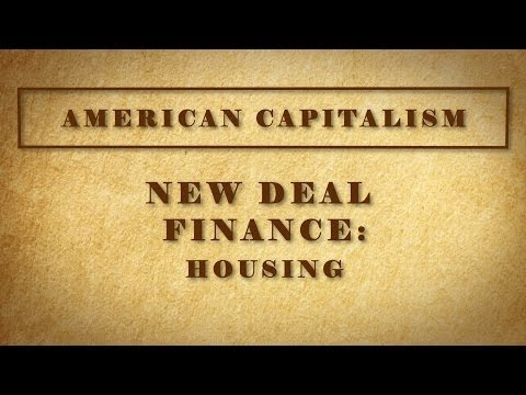 New Deal Finance: Housing