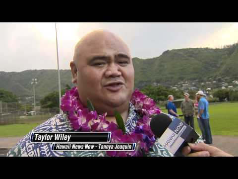 Hawaii Five O  Blessing   with Taylor Wiley