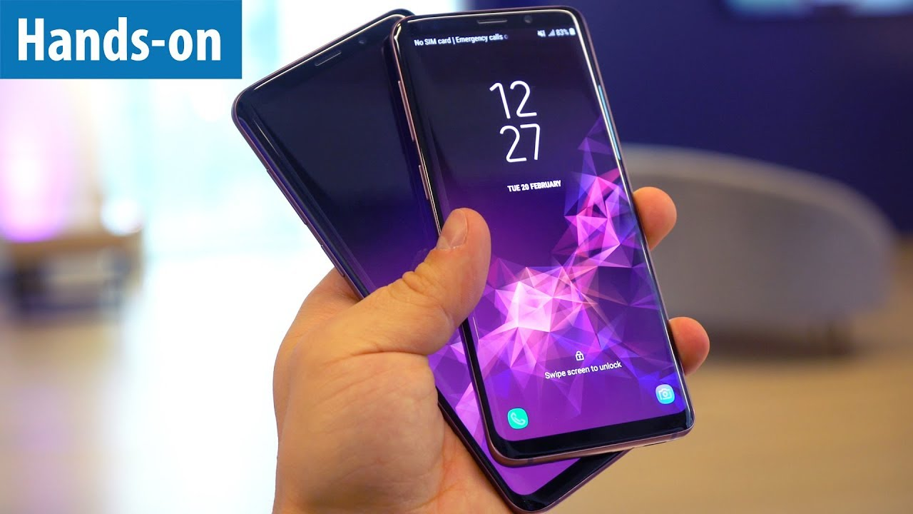 samsung galaxy s9 s9 die neuen top phones im hands on. Black Bedroom Furniture Sets. Home Design Ideas