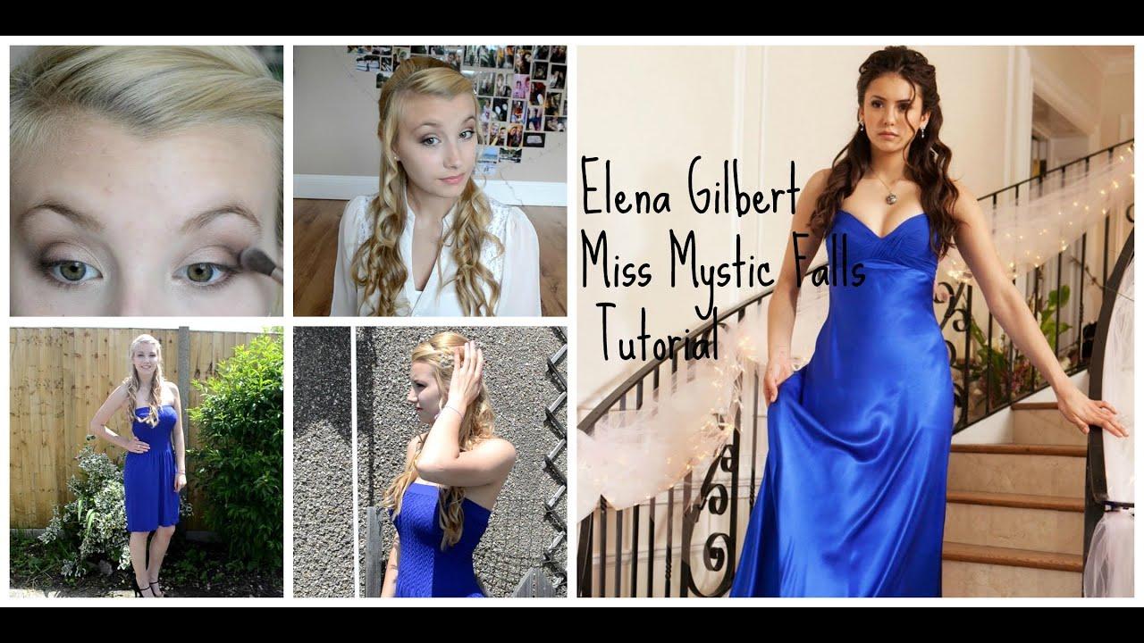 Prom Elena Gilbert Inspired Tutorial 2014
