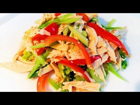 Салат из сельдерея диетический рецепт