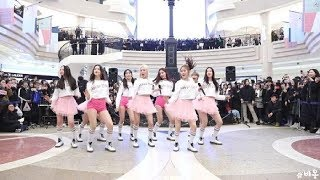 깜짝 게릴라 콘서트 열고 1000명 관객 앞에서 뿜뿜 무대 선보인 모모랜드 영상