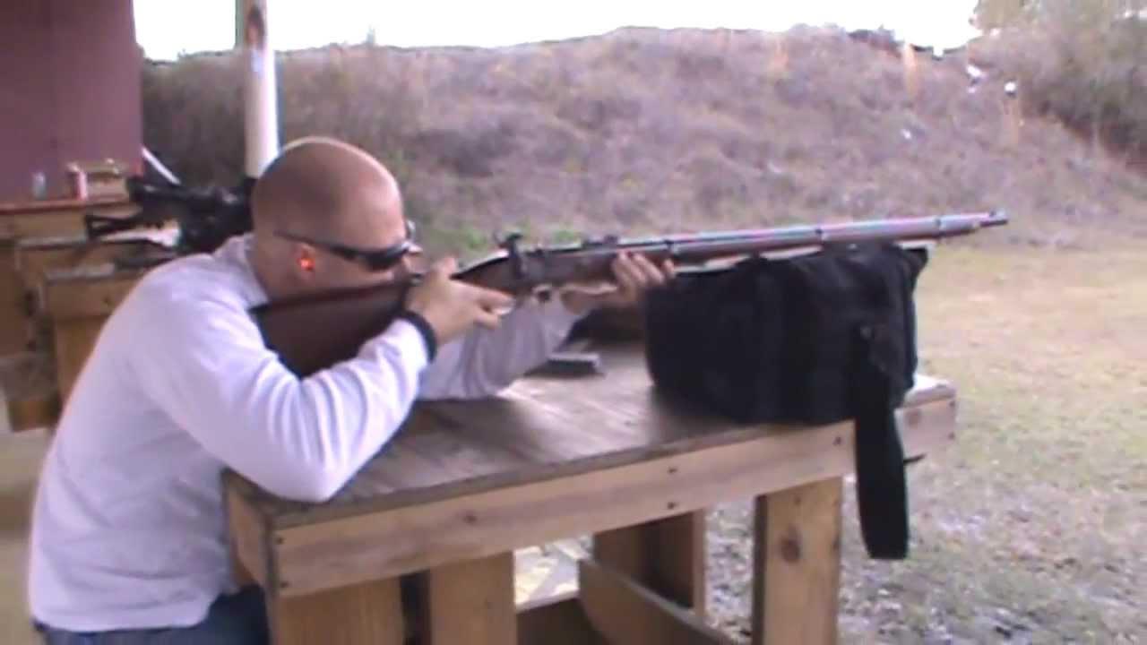 Shooting the Enfield  58 Caliber Rifle