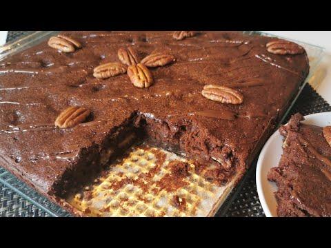 ~brownies-sans-beurre-~🍫-chocolat-noix-de-pécan-,-allégé-en-sucre,-healthy-|recettes-&-diététique