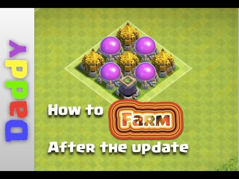 Clash Of Clans  | how to FARM AFTER the UPDATE | Farming tutorial