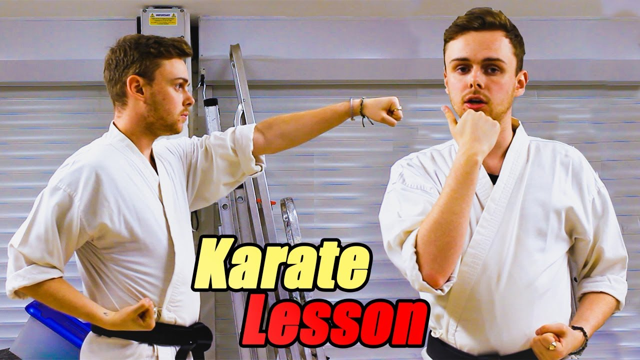 Let's Learn Karate with Chris | Episode 01