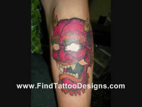 Mask Tattoos Designs