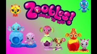 toy Zoobles/ Игрушки Зублс. Обзор наборов игрушек Зублс