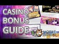 Most Popular Casino Bonuses Explained For New Players