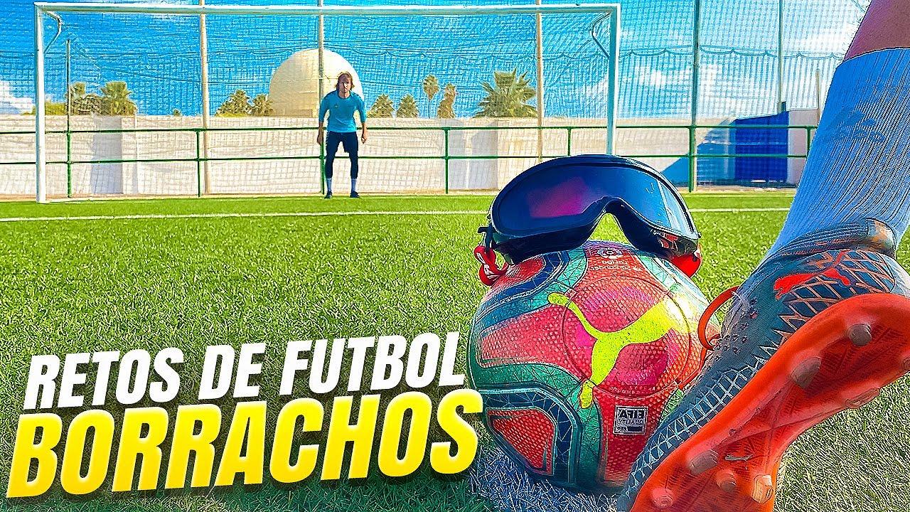⚽ Retos de Fútbol BORRACHOS !! 🍺🤪