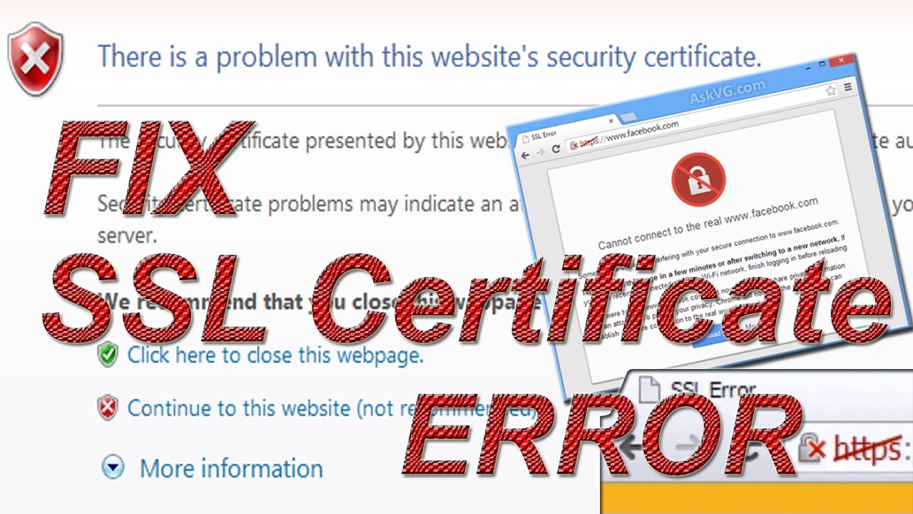 Fix ssl certificate error on chrome youtube fix ssl certificate error on chrome 1betcityfo Image collections