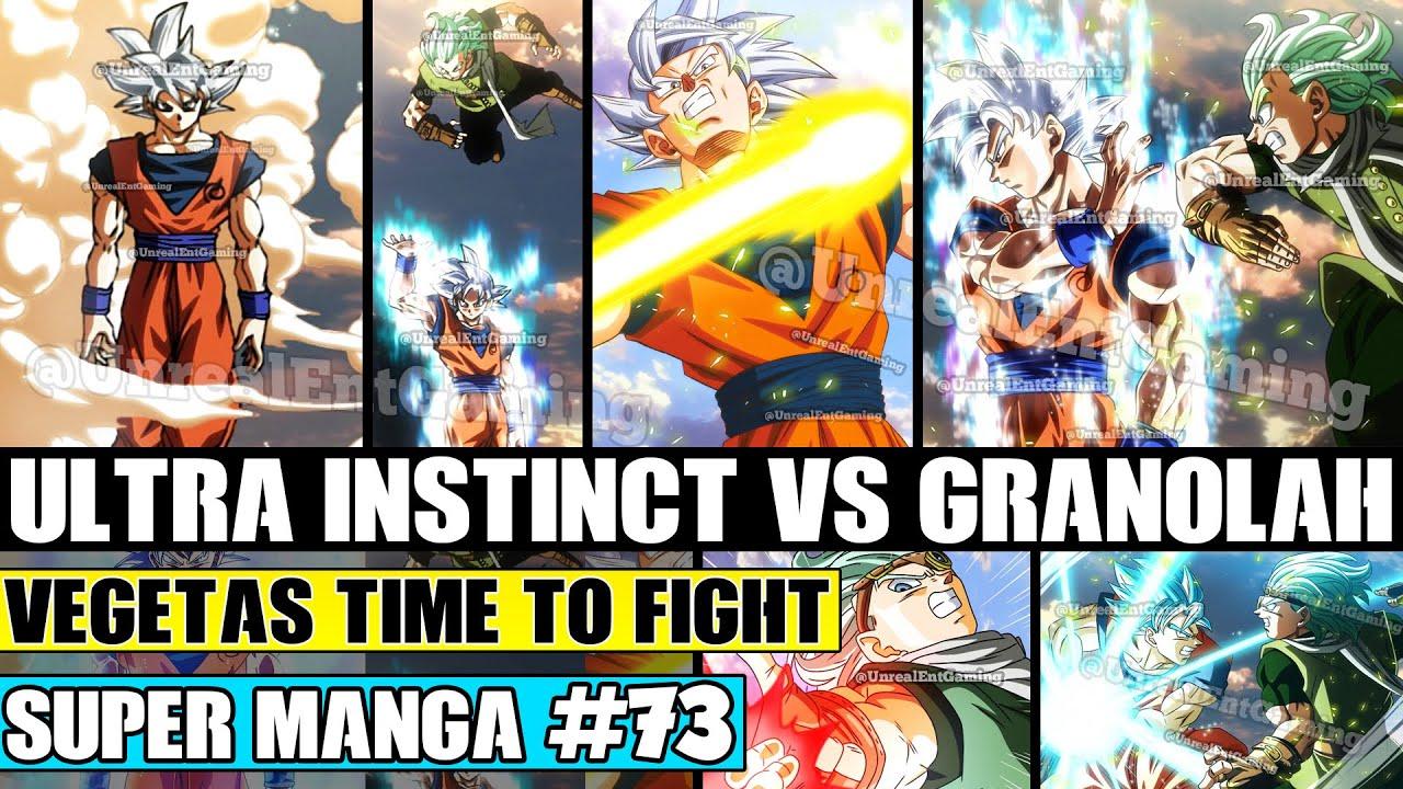 Download ULTRA INSTINCT GOKU VS GRANOLAH! Vegetas Steps In To Fight Dragon Ball Super Manga Chapter 73 Review