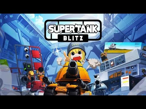 Super Tank Blitz Gameplay Android | New Game