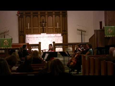 Matt Doran: Quintet for flute and strings