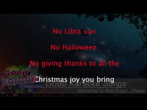 I Just Called To Say I Love You -  Stevie WOnder (Lyrics Karaoke) [ goodkaraokesongs.com ]