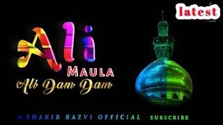 21 Ramzan -Ali Maula Ali Maula Ali Dam Dam   latest WhatsApp Status 2020 