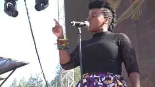 Etana 'I Am Not Afraid' Reggae on the River August 2 2014