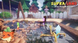 Supraland #6 [FR] Le mystère du PNJ et ses boules d'aciers! Cet episode qui a tenté de me briser!