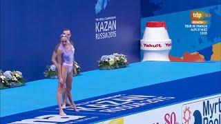 Синхронное плавание в военной форме СССР Казань Чемпионат Мира