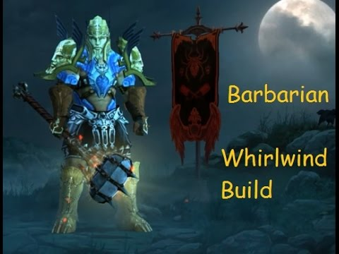 Barbarian Diablo  Whirlwind Build