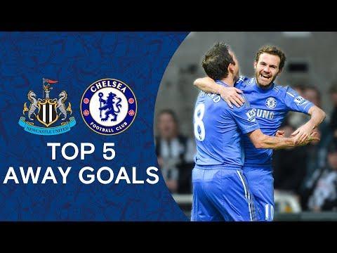 Top 5 Away Goals Against Newcastle | Chelsea Tops