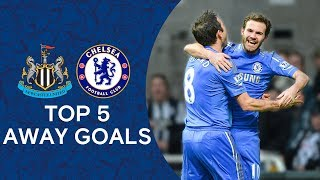 Top 5 Away Goals Against Newcastle | Chelsea Tops