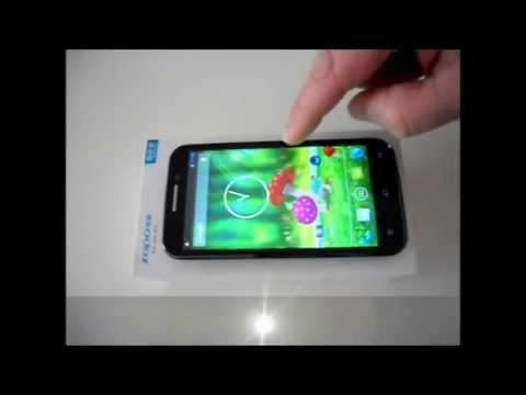 """VIDEO DES ZOPO ZP810 (ZP800H LIBERO HD) SMARTPHONE MIT DUAL SIM, ANDROID 4.2, QUAD-CORE, MT6589, 5"""""""