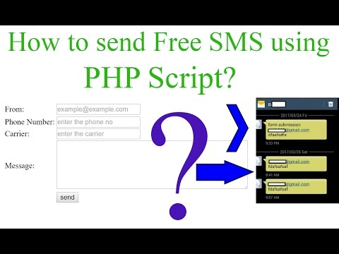 How to Send Free SMS using PHP?[With Source Code] | TechSupportNep