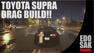 need for speed 2015 toyota supra sz r drag build