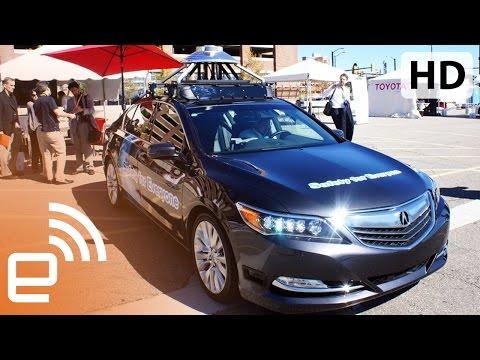 Honda's self-driving car demo | Engadget