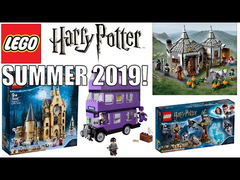 LEGO Harry Potter Summer 2019 Set Pictures & My Thoughts!