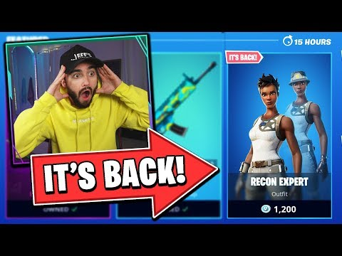 RECON EXPERT IS BACK IN THE ITEM SHOP!!