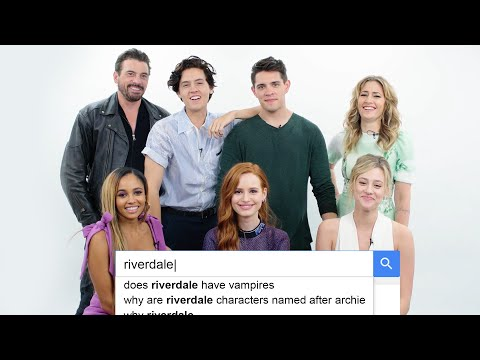 Riverdale Cast Answers the Web's Most Searched Questions  WIRED