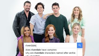 Download Riverdale Cast Answers the Web's Most Searched Questions | WIRED Mp3 and Videos