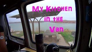 Van Dweller Kitchen  What I Use to Cook in the Van