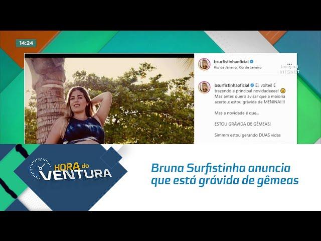 Bruna Surfistinha anuncia que está grávida de gêmeas