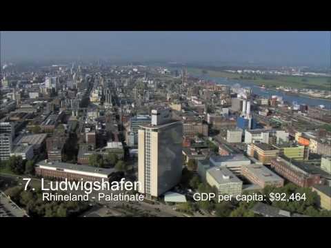 Richest Cities in Germany   Deutschlands Power Städte
