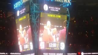 The Al Horford tribute video after first quarter of #Celtics-#Hawks