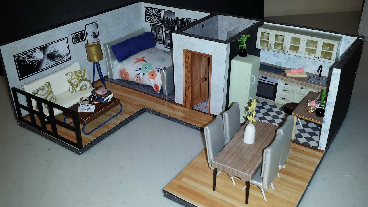 photo regarding Miniature Dollhouse Printable Floors called Do it yourself Miniature Dollhouse Rental