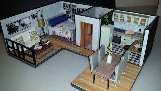 DIY Miniature Dollhouse Apartment